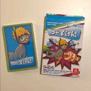 FREE with any purchase over 25$ - Go Fish! (New)